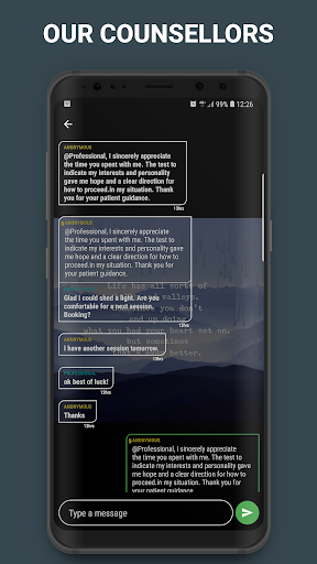 Tell A Buddy - Online Counseling & Life Management 1.9.1 screenshots 4