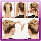 How To Tie A Womans Hair icon