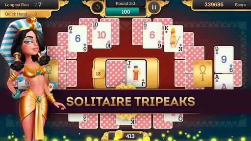 Cleopatra Solitaire TriPeaks 1.0.07 screenshots 1