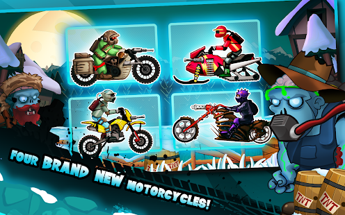 Zombie Shooter Motorcycle Race 2