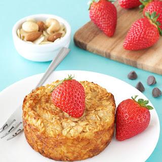 Italian Cheesecake Baked Oatmeal