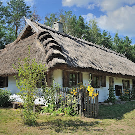 Old wood architecture by Tomasz Budziak - Buildings & Architecture Homes ( buildings, poland, homes, architecture )