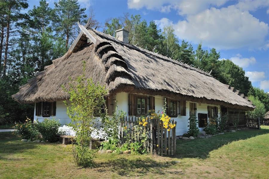 Old wood architecture by Tomasz Budziak - Buildings & Architecture Homes ( buildings, poland, homes, architecture )
