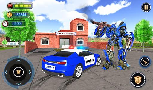 US Robot Car Transform - Police Robot Fighting 1.0.1 screenshots 17