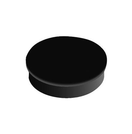 Magnet rund  30mm svart  10/fp
