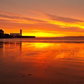 Just another Scarborough sunrise by Steve BB - Landscapes Sunsets & Sunrises