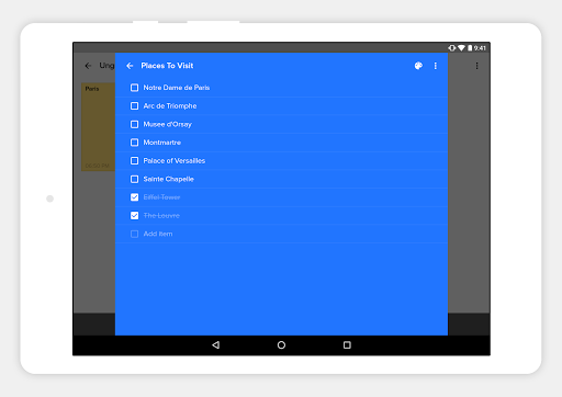 NOTEBOOK - Take Notes, Sync 5.3.2 Screenshots 9