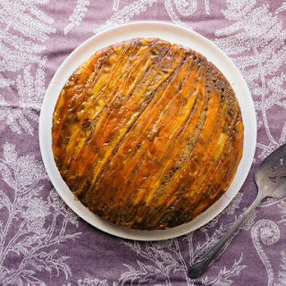 Upside-Down Carrot Cake.