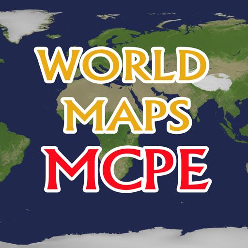 世界地图种子MCPE 2015年 書籍 App LOGO-APP試玩