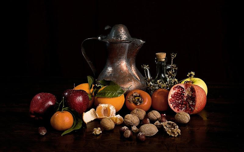 Frutta sul tavolo di mariarosa-bc