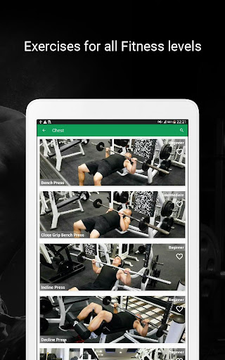 Fitvate - Home & Gym Workout Trainer Fitness Plans 6.8 screenshots 12