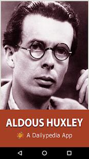 Aldous Huxley Daily - náhled