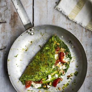 Super Green Omelette.