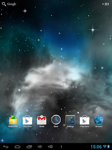 Galaxy 3D Parallax Wallpapers - náhled