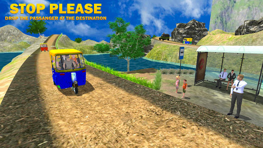 Modern Auto Tuk Tuk Rickshaw apkpoly screenshots 13