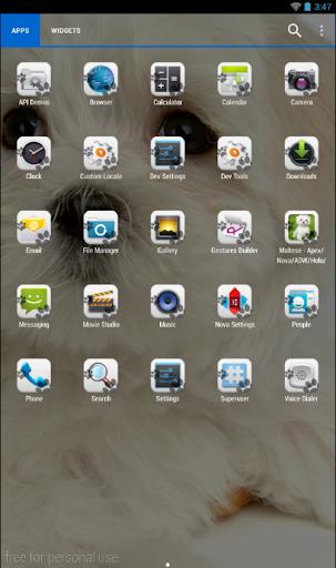 玩免費個人化APP 下載Maltese Theme - Nova/ADW/GO app不用錢 硬是要APP