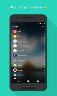 Evie Launcher Screenshot