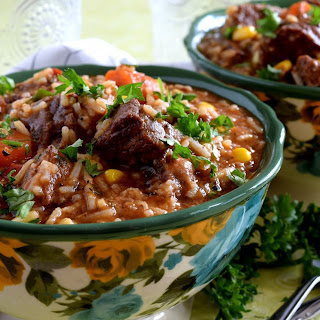 Braised Beef Stew with Rice Recipe
