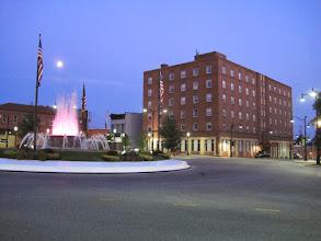 Photo: Hotel Belleville at night  2013