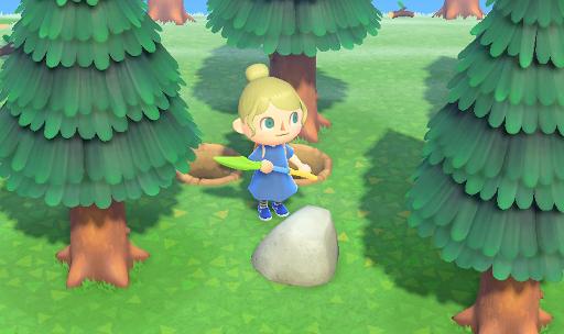 あつ森 岩