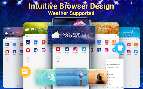 Web Browser & Fast Explorer Screenshot
