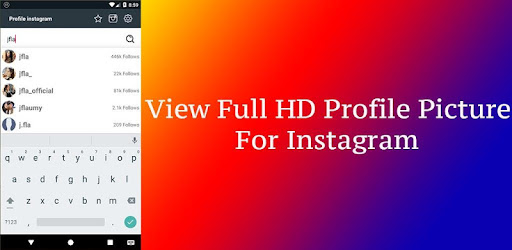 Big profile HD picture viewer & save for instagram - Apps on Google Play