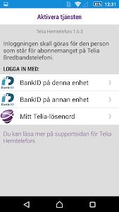 Telia Hemtelefoni screenshot 1
