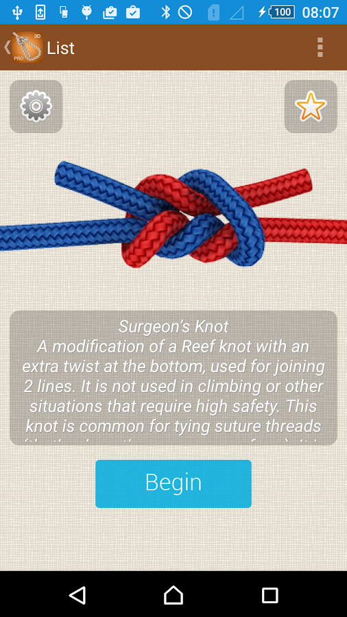 How to Tie Knots - 3D Animated- screenshot