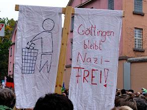 Photo: Antifa  Aufmarsch im Goettingen 28.10.06