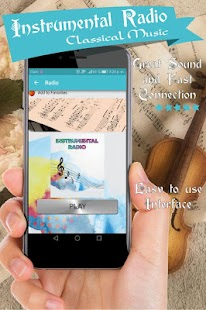Instrumental radio classical music online USA free - náhled