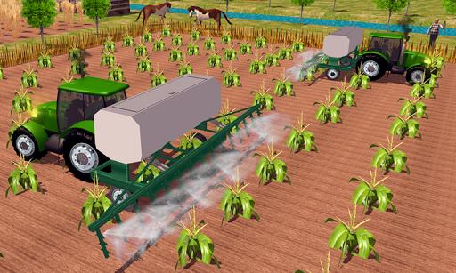 Farming sim 2018 - Tractor driving simulator apkdebit screenshots 2