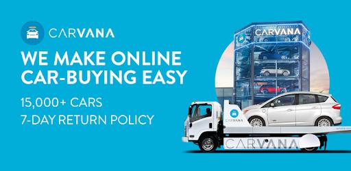 Carvana: 15k Used Cars, Buy Online, 7-Day Returns - Apps on