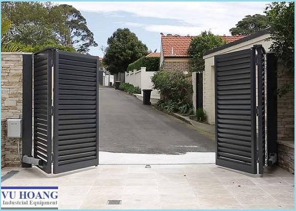 Loại cổng âm sàn được nhiều người dùng nhất