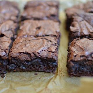 Kosher for Passover Fudgy Brownies (Gluten Free).