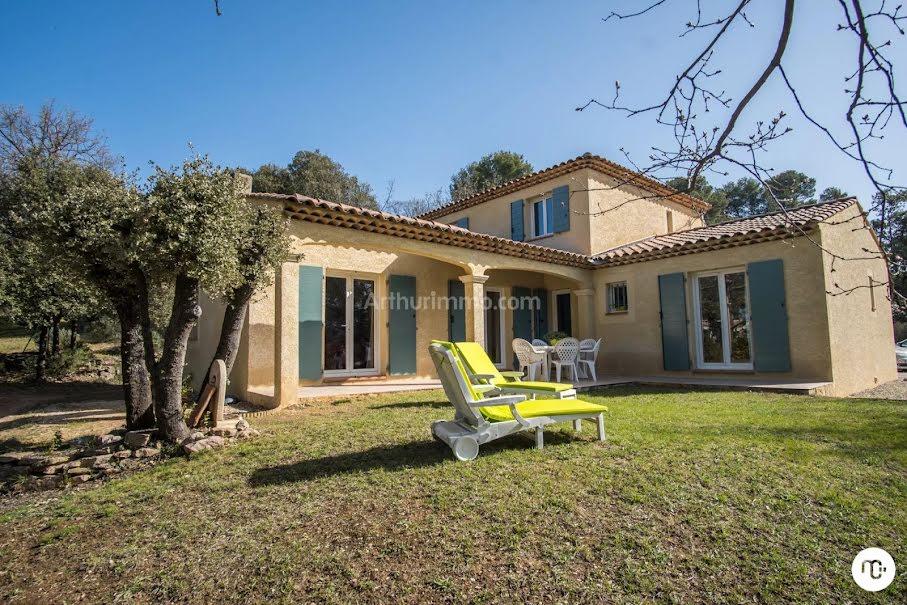 Vente maison 5 pièces 137 m² à Pourrières (83910), 575 000 €