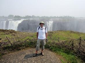 Photo: Lasse at Victoria Falls