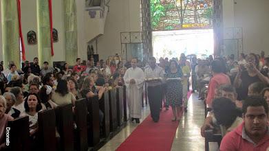 Photo: Ordenação Diaconal de    Valdemir,    Reginaldo  & Daniel.