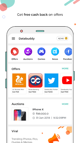 Download Databuddy: Paytm cash, WhatsApp Viral Pics & Clips