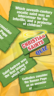 Christian Saints Quiz Game On History Of Saints - náhled