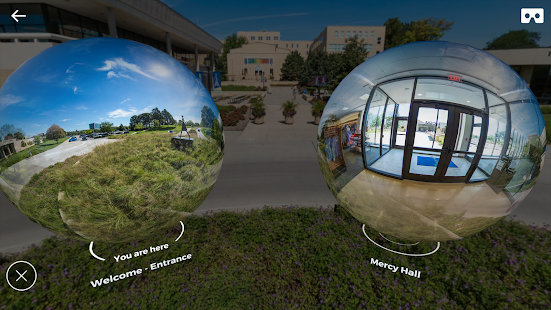 College of Saint Mary - Experience in VR - náhled