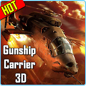 Gunship Carrier Helicopter 3D