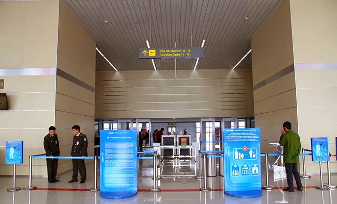 An ninh Sảnh E nhà ga T1 Nội Bài