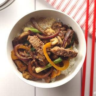 Gluten-Free Mongolian Beef (15 ingredients)