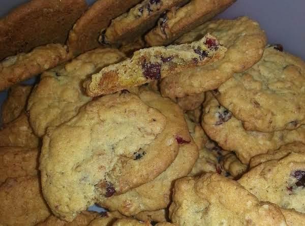 Cranberry Granola Cookies
