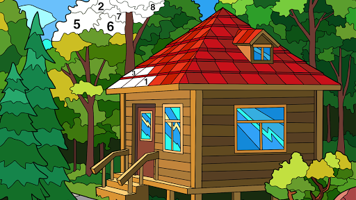 Coloring Book - Color by Number & Paint by Number 1.6.11 screenshots 8