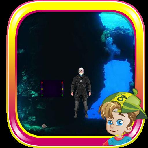 青の洞窟の洞窟からの脱出 解謎 App LOGO-硬是要APP