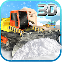 Snow Plow Truck Simulator 3D icon