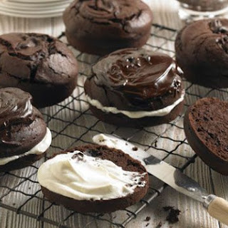Dark Chocolate And Parsnip Cakes.