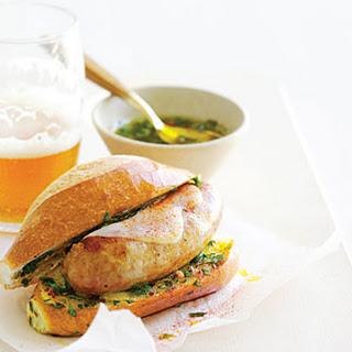 Argentine-Style Sausage Sandwiches.