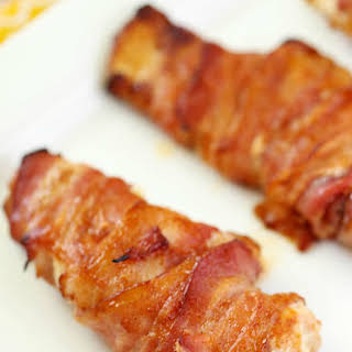 Bacon Wrapped Chicken.
